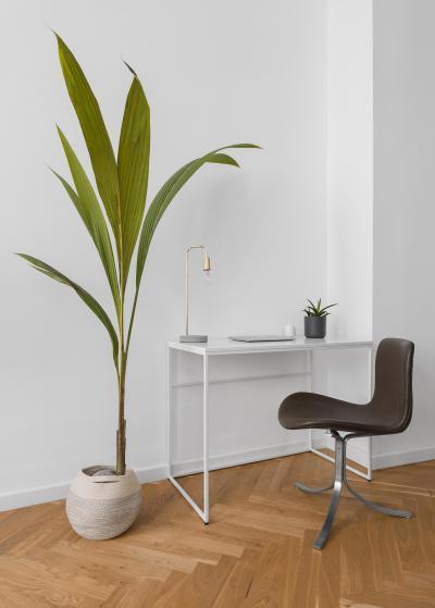 Dolgozósarok a nappaliban - dolgozószoba ötlet, modern stílusban