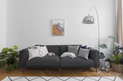 Látványos részlet a nappaliban - nappali ötlet, modern stílusban