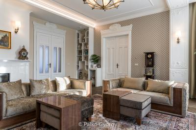 Nagypolgári nappali modern megoldásokkal - nappali ötlet, klasszikus stílusban