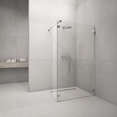 Euphoria Walk-In II üveg zuhanyfal - fürdő / WC ötlet, minimál stílusban