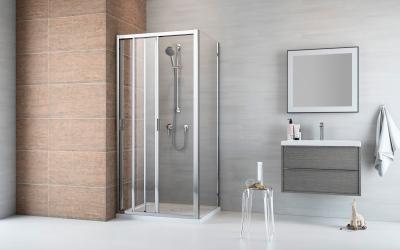Evo DW-S szögletes zuhanykabin - fürdő / WC ötlet, modern stílusban