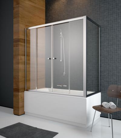 Vesta-DWDS kádparaván - fürdő / WC ötlet, modern stílusban