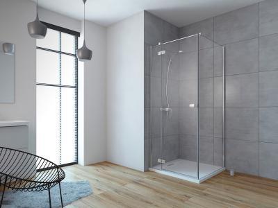 Fuenta New KDJ szögletes zuhanykabin - fürdő / WC ötlet, modern stílusban