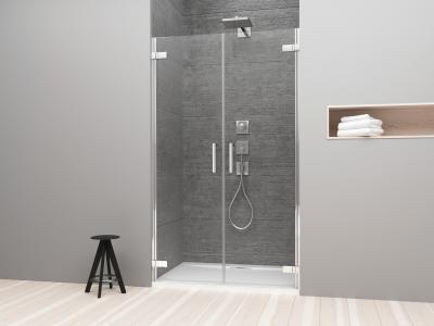 Arta DWD zuhanyajtó - fürdő / WC ötlet, minimál stílusban