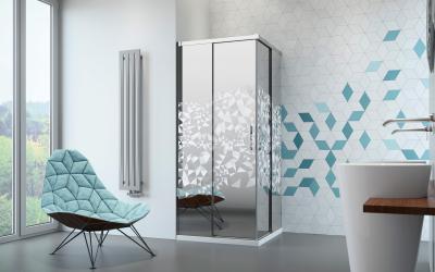 Idea KDD szögletes zuhanykabin - fürdő / WC ötlet, modern stílusban
