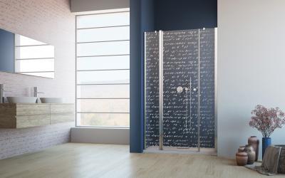Eos II DWJS zuhanyajtó - fürdő / WC ötlet, minimál stílusban
