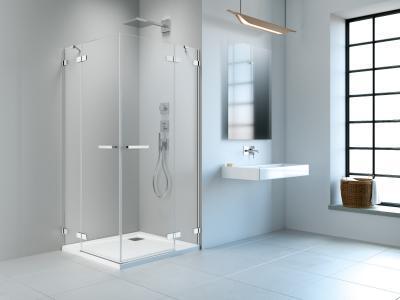Arta KDD II szögletes zuhanykabin - fürdő / WC ötlet, minimál stílusban