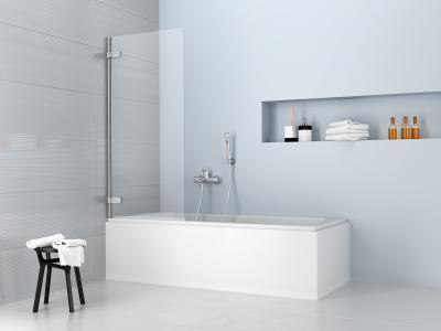 Arta PNJ kádparaván - fürdő / WC ötlet, modern stílusban