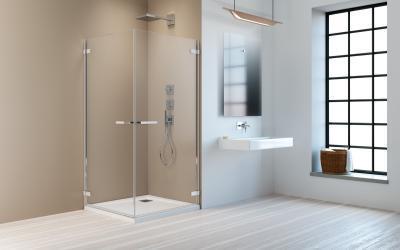 Arta KDD I szögletes zuhanykabin - fürdő / WC ötlet, minimál stílusban