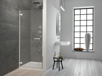 Arta DWJ I zuhanyajtó - fürdő / WC ötlet, minimál stílusban
