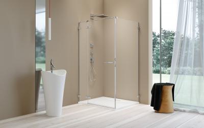 Arta KDJ II szögletes zuhanykabin - fürdő / WC ötlet, minimál stílusban
