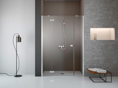 Fuenta New DWJS zuhanyajtó - fürdő / WC ötlet, minimál stílusban