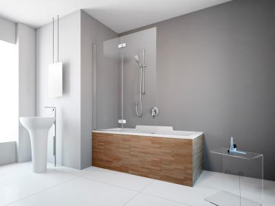 Fuenta New PND kádparaván - fürdő / WC ötlet, modern stílusban
