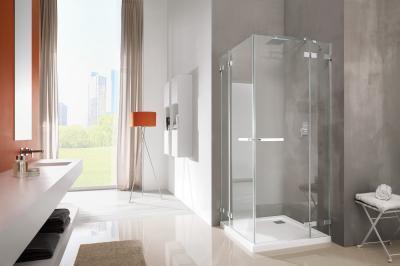 Euphoria KDD szögletes zuhanykabin - fürdő / WC ötlet, minimál stílusban