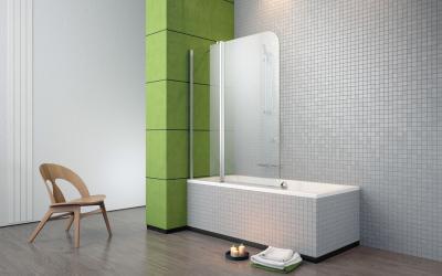 Eos II PN kádparaván - fürdő / WC ötlet, modern stílusban