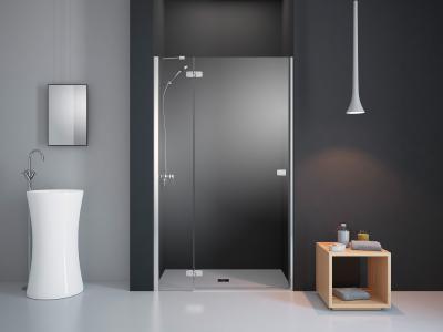 Fuenta New DWJ zuhanyajtó - fürdő / WC ötlet, minimál stílusban