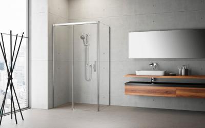 Idea KDJ szögletes zuhanykabin - fürdő / WC ötlet, minimál stílusban