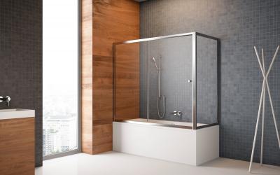 Vesta DWJS kádparaván - fürdő / WC ötlet, minimál stílusban