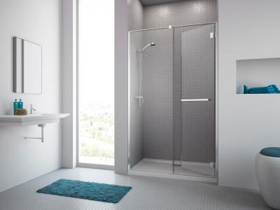 Carena DWJ zuhanyajtó - fürdő / WC ötlet, minimál stílusban
