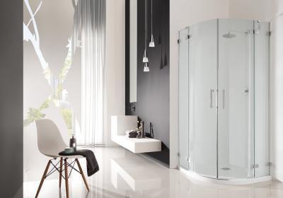 Euphoria PDD íves zuhanykabin - fürdő / WC ötlet, modern stílusban