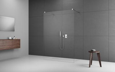 Modo New I zuhanyfal - fürdő / WC ötlet, minimál stílusban