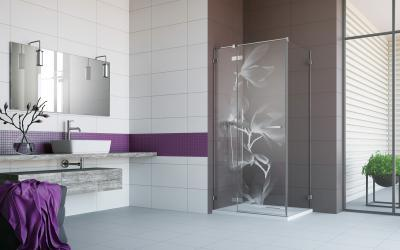 Euphoria KDJ szögletes zuhanykabin - fürdő / WC ötlet, modern stílusban