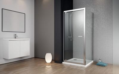 Twist DW+S szögletes zuhanykabin - fürdő / WC ötlet, minimál stílusban