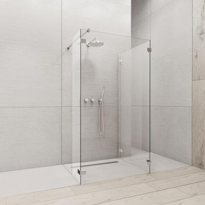 Euphoria Walk-In IV zuhanyfal - fürdő / WC ötlet, minimál stílusban