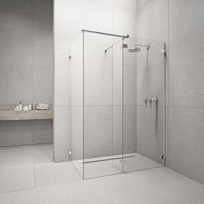 Euphoria Walk-In III zuhanyfal - fürdő / WC ötlet, minimál stílusban