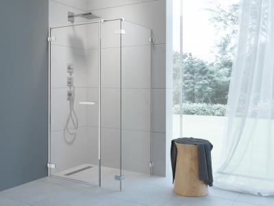 Arta KDS I szögletes zuhanykabin - fürdő / WC ötlet, minimál stílusban