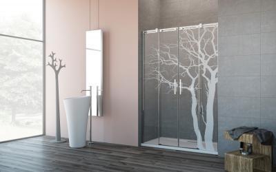 Espera DWD zuhanyajtó - fürdő / WC ötlet, modern stílusban