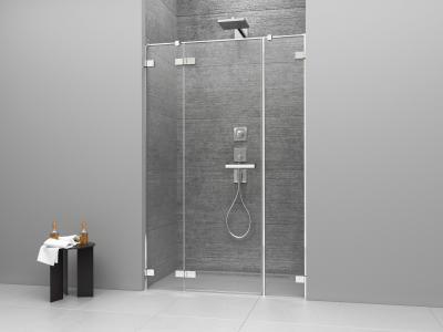 Arta DWJS zuhanyajtó - fürdő / WC ötlet, minimál stílusban