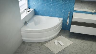 Ida sarokkád - fürdő / WC ötlet, modern stílusban