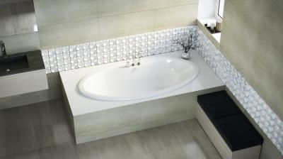 Lux I. különleges kád - fürdő / WC ötlet, modern stílusban