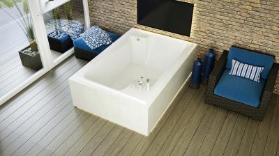 Grande különleges kád - fürdő / WC ötlet, modern stílusban