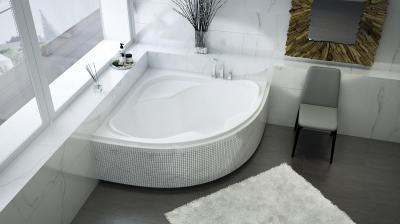 Samanta sarokkád - fürdő / WC ötlet, modern stílusban