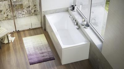 Amanda egyenes kád - fürdő / WC ötlet, modern stílusban