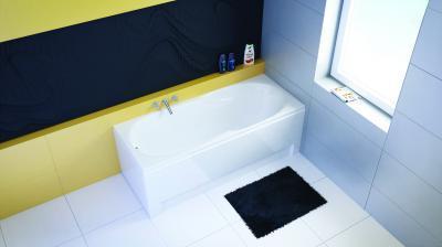 Nora egyenes kád - fürdő / WC ötlet, modern stílusban