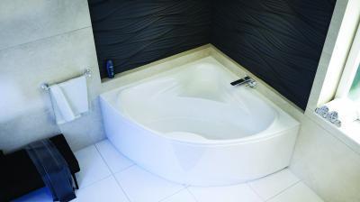 Rita sarokkád - fürdő / WC ötlet, modern stílusban