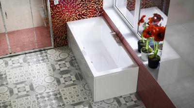Crystal egyenes kád - fürdő / WC ötlet, modern stílusban