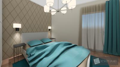 Látványos világítás a hálóban - háló ötlet, modern stílusban