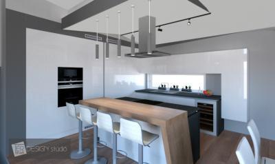 Design konyha egyedi tervezéssel - konyha / étkező ötlet, modern stílusban