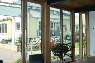 Ablakok és üvegajtó - belső továbbiak ötlet, modern stílusban
