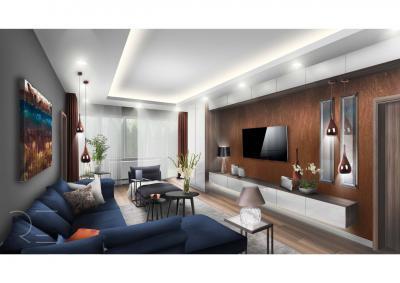 Hangulatos nappali meleg színekkel - nappali ötlet, modern stílusban