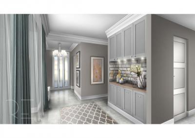 Beépített szekrények - belső továbbiak ötlet, modern stílusban