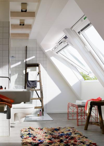 Poliuretán bevonatos tetőtéri ablak - tetőtér ötlet, modern stílusban