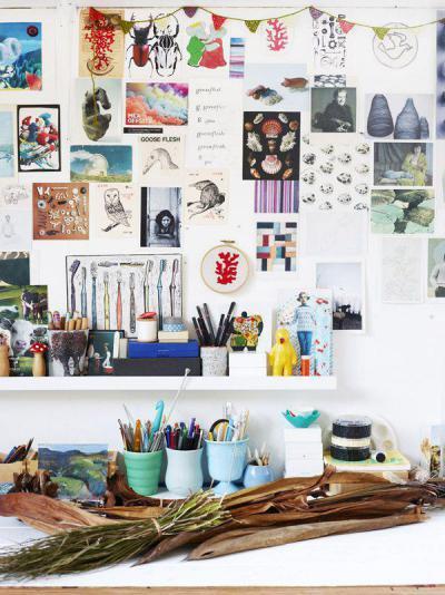 Dolgozni otthon is lehet - dolgozószoba ötlet, modern stílusban