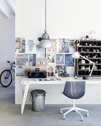 Dolgozni otthon is lehet - belső továbbiak ötlet, modern stílusban