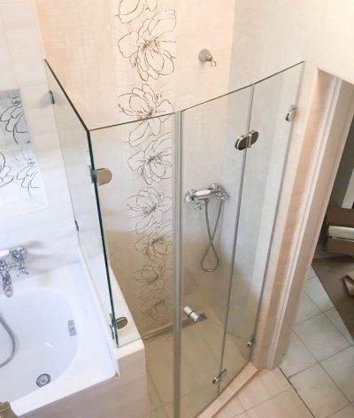 Alakos zuhanykabinok - fürdő / WC ötlet, modern stílusban