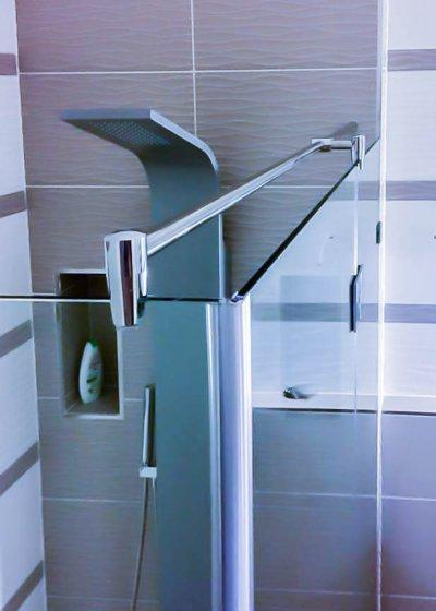 Modern formák - fürdő / WC ötlet, modern stílusban